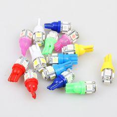 Лампочки автомобильные светодиодные T10 5 LED 1 Вт