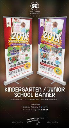 Kindergarten Junior School Banner