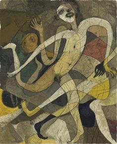 Toshihiko Okuya, study #049 on ArtStack #toshihiko-okuya #art