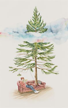 Trees get lonely by carmel seymour