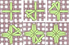 Illustrated Cross stitch, Needlecraft and Embroidery glossary. Section C: Cable chain stitch to Cut work Plastic Canvas Stitches, Plastic Canvas Crafts, Plastic Canvas Patterns, Bargello Needlepoint, Needlepoint Stitches, Needlework, Hardanger Embroidery, Cross Stitch Embroidery, Cross Stitch Patterns