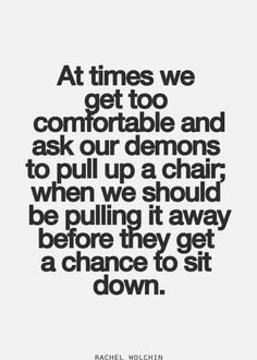 Watch what u hang onto...
