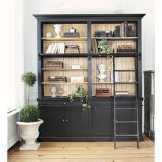Libreria nera in massello ... - Versailles