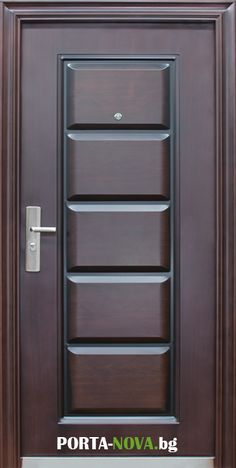 China-made copper door steel door aluminum door parts supplier Wooden Front Door Design, Wooden Front Doors, Bedroom Door Design, Door Design Interior, Single Main Door Designs, Modern Wooden Doors, Steel Doors, Google Search, Woodworking Projects