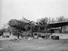 The Forgotten Yorkshire Airfields of No. 4 Group, Bomber Command - With its new infrastructure up and running, 10 Squadron, like many Yorkshire-based units, re-equipped with the Handley Page Halifax and soon launched raids deep into the heart of Nazi Germany.