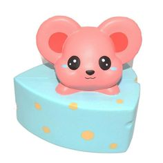 Kiibru Kawaii Squishies - Cheese Mouse