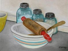 The Recipe oil on canvas will take you back in by PetrocyStudios, $350.00