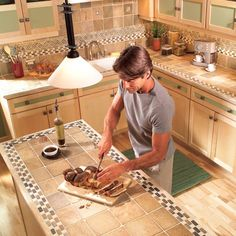 Everything Old Is New Again Tile Countertops Then And Now Tile Countertops And Countertops