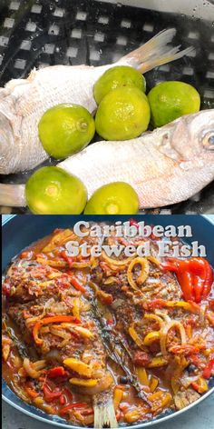 This Caribbean Stewed Fish recipe is so flavoursome it's a seafood lovers dream. Whole fish is marinated, baked in the oven and then cooked down in a creole sauce. The ultimate weeknight dinner or make it the perfect crowd pleaser. Dairy Free Recipes, Quick Recipes, Fish Recipes, Indian Food Recipes, Caribbean Food, Caribbean Recipes, Recipe Videos, Food Videos, Healthy Cooking