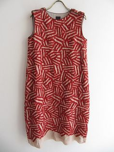 Japanese print dress. Mina Katori.com