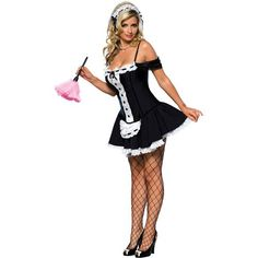 French Maid Halloween, French Maid Costume, Women Halloween, Adult Halloween, Halloween Ideas, Adult Costumes, Costumes For Women, Bunny Halloween Costume, Halloween Party