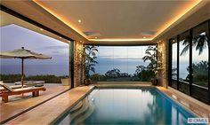 Indoor & Outdoor pool! AMAZING! #lagunabeach #orangecounty