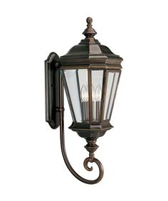 Progress Lighting P5672 Crawford 3 Light Outdoor Wall Light
