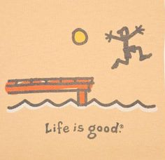☮ American Hippie Art Quotes ~ Life is good . Words Quotes, Sayings, Good Day Sunshine, Free Samples By Mail, Do What You Like, Hippie Art, Beach Signs, Lake Life, Make Me Happy