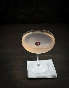 cranberry gin blush cocktail.