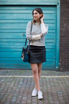 HOW I STYLE A LEATHER SKIRT – Lily Pebbles