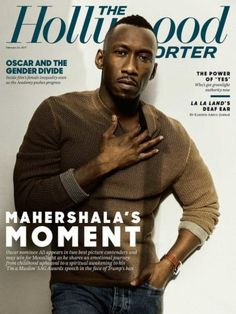Mahershala Ali covers The Hollywood Reporter