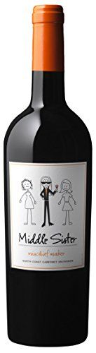 NV Middle Sister Mischief Maker Cabernet Sauvignon 750 mL ** Click image to review more details.