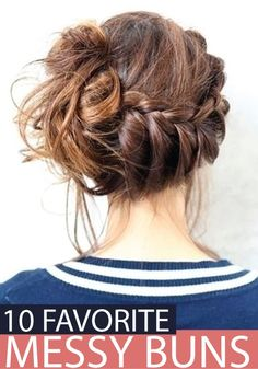 Check out all these messy buns and give them a try!