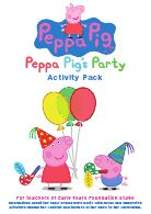 (Peppa Pig's Party Education Pack:Layout