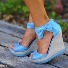 Love these blue shoe