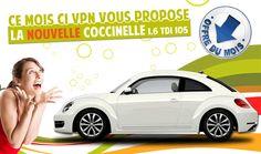 Nouvelle Coccinelle 1.6 TDI 105 en promo à seulement 20 990 € dans les centres autos VPN de Toulouse, Muret, Agen, Angers, La Rochelle, La Roche sur Yon et Bordeaux