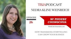 TBJA 026 Nedra Kline Weinreich: How Transmedia Storytelling Can Grow Your Business Content Marketing, Online Marketing, Social Media Marketing, Digital Marketing, Interview, Brand Story, Social Change, Growing Your Business, Personal Branding