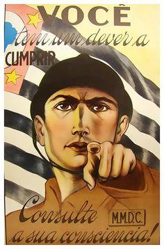 Cartaz da Revolução de 32