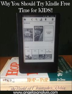 Why You Should Try Kindle Free Time for Kids!