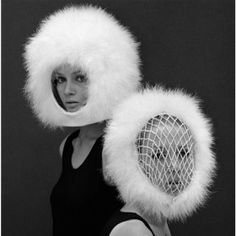 1960s John French feather helmets; they'll never protect you but they sure look great.