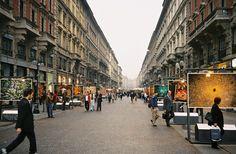 Via Dante-Milano,Italia