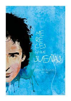 """Gustavo Cerati """"Mereces lo que sueñas"""" por Luis Atao"""