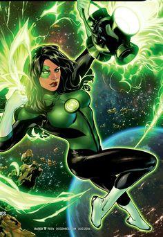 Green Lantern rookie Jessica Cruz