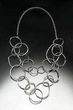 Dandelion Chain Necklace, oxidized sterling silver Oxidized Sterling Silver, Dandelion, Chain, Jewelry, Style, Swag, Jewels, Stylus, Schmuck