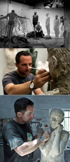 Jason deCaires Taylor at work