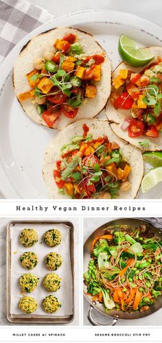11 of our favorite plant-based dinner options. They're healthy, filling and vegan - most can also be made gluten-free.