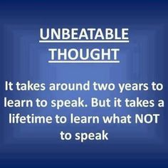 UNBEATABLE THOUGHT