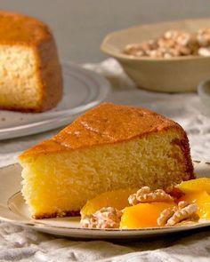 The original full-fat cake is traditionally a French child's first recipe — and tastes delicious as a light snack or breakfast. This version will surely be delicious drizzled with honey or fresh berries / Greek Yogurt Cake Recipe