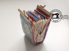 Accordion Fold Frame Card Holder PDF Sewing Pattern by LYPatterns, $5,00