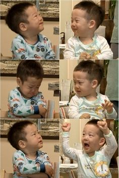 """Seo Eon and Seo Joon Showcase Their Adorable Expressions on """"Superman Returns"""" Cute Boys, Cute Babies, Baby Kids, Cool Kids, Baby Pictures, Baby Photos, Superman Kids, Korean Tv Shows, Love Twins"""