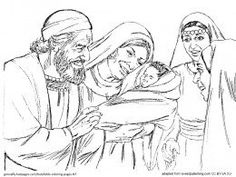 6 Printable Pictures For Telling The Story Of Zacharias Elisabeth