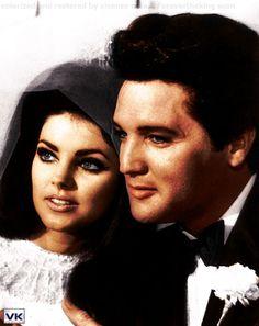 Elvis & Priscilla Presley marry May 1967 Las Vegas Lisa Marie Presley, Elvis Presley Priscilla, Elvis Presley Family, Elvis Presley Photos, Elvis Wedding, Before Wedding, Rhythm And Blues, Graceland, Jackson