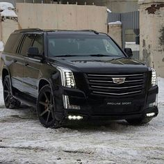 2015 Blacked Out Cadillac Escalade Garage Pinterest