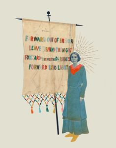 Forward Out of Error - Giclee art print: Hollie Chastain