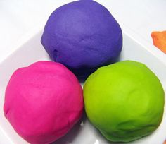 recipes for play dough and more