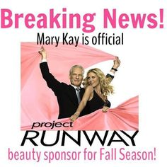 Mary Kay is official Project Runway #beauty sponsor! Get your everyday and runway ready looks with Mary Kay Cosmetics :) www.Marykay.com/avis.mendez