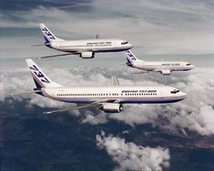 Building on Success, The Next-Generation 737 family Boeing Aircraft, Passenger Aircraft, All Airlines, Commercial Aircraft, Spacecraft, Jets, House Colors, Airplanes, Aviation