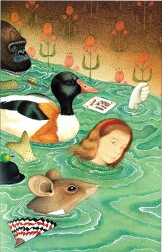 Anthony Browne: how I re-imagined Alice in Wonderland