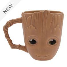 "Disney Baby Groot Mug from ""Guardians Of The Galaxy Volume Stars Disney, Disney T-shirts, Disney Mugs, Disney Parks, Disney House, Baby Groot, Monster Uni, Disney Tassen, Disney Store Uk"