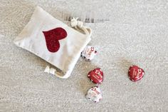 My Valentine Decorating Inspiration :: Red & Burlap - The TomKat Studio